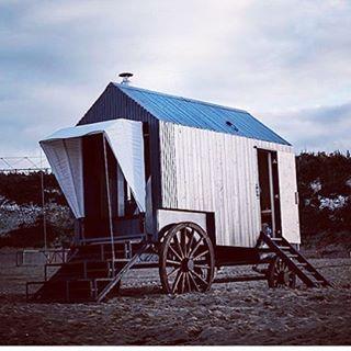 The only sea bathing machine sauna in the world! Thishellip