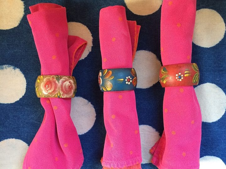 Old School: Napkin Rings