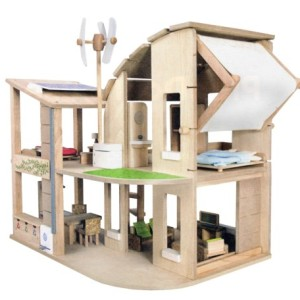 Plan-Toys-The-Green-Dollhouse-with-Furniture-0-1