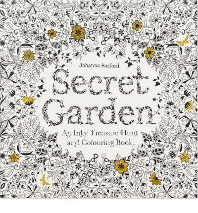 Secret Garden by Johana Basford
