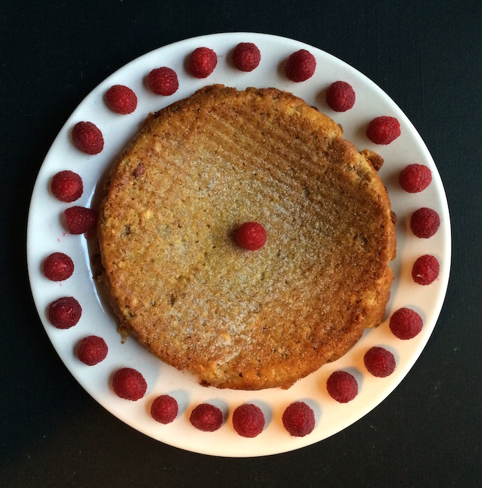 Lemon-Cornmeal-Cake