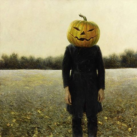 Trick ortreat? Both when artist Jamie Wyeth is involved! Hishellip