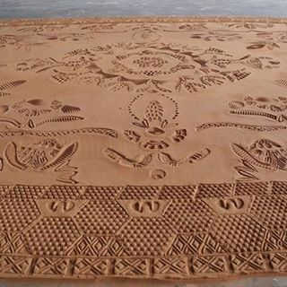 Red Clay Carpet by the artist of the Spring Issuehellip
