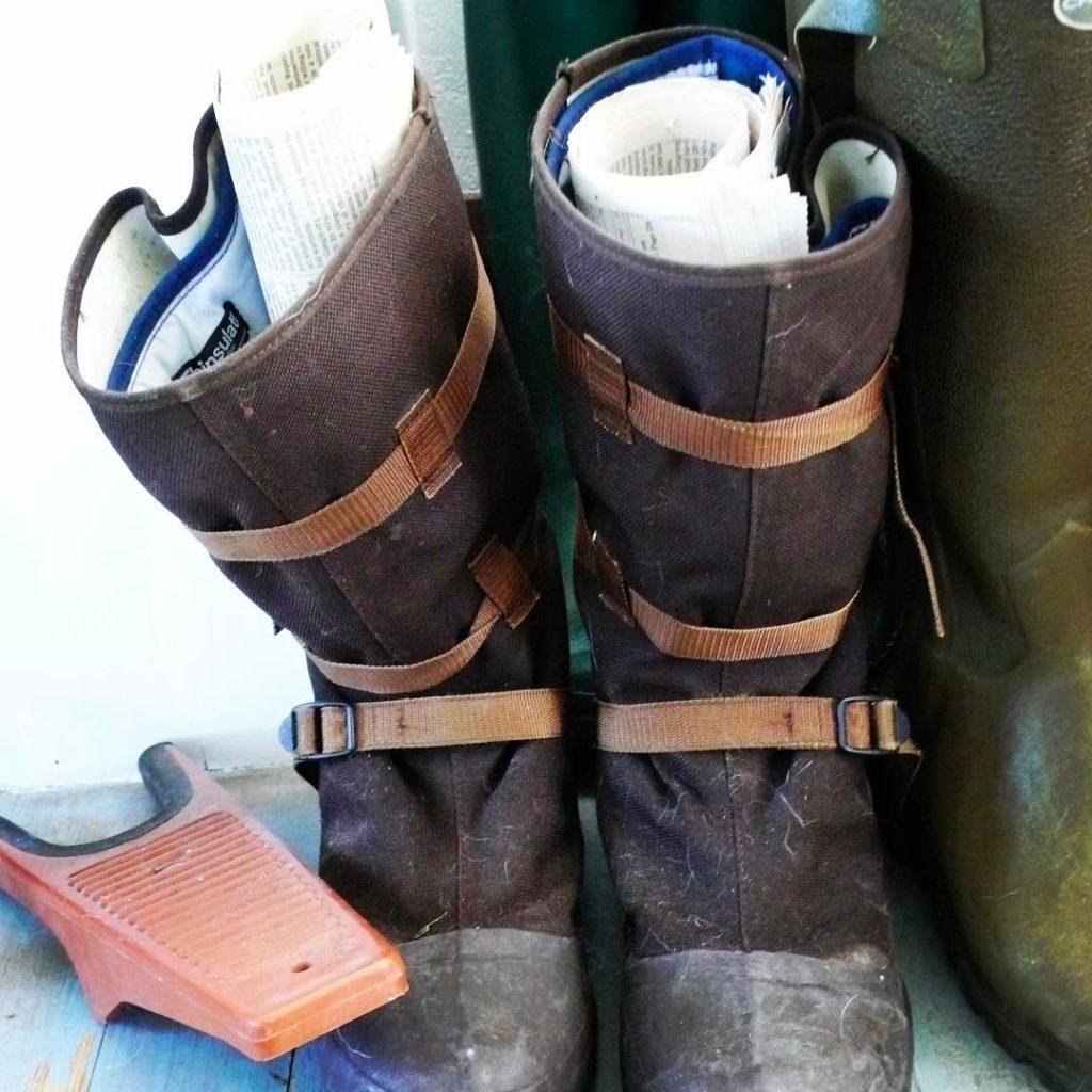 Artist boots Jamie Wyeth goes old school when drying hishellip