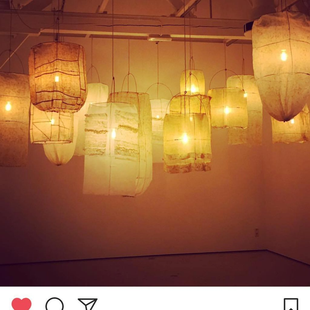 Beautiful lantern installation by Dosa dosaflyingfish and markedenschooley at thehellip
