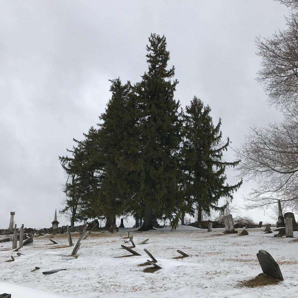 Winter Graveyard Old old old headstones Beautiful and stark Nohellip