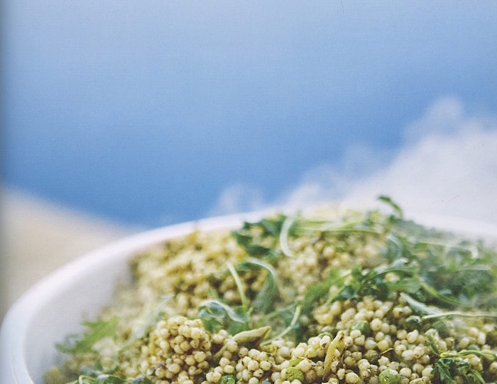Pea and Pesto Couscous